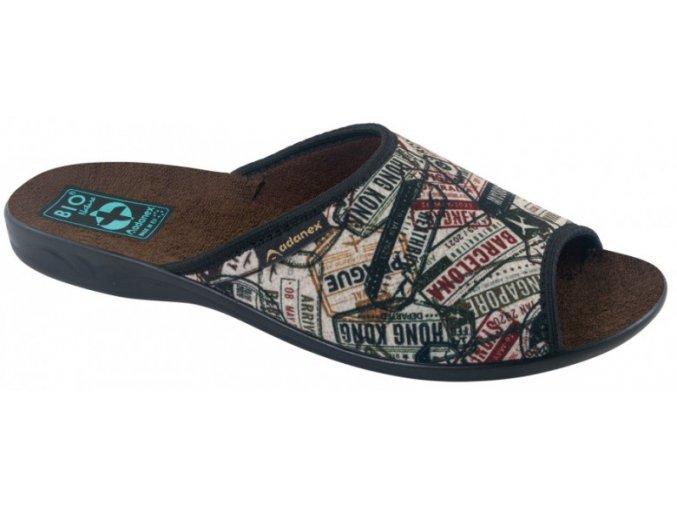 Dámske papuče ADANEX BIO 26710 s otvorenou špičkou