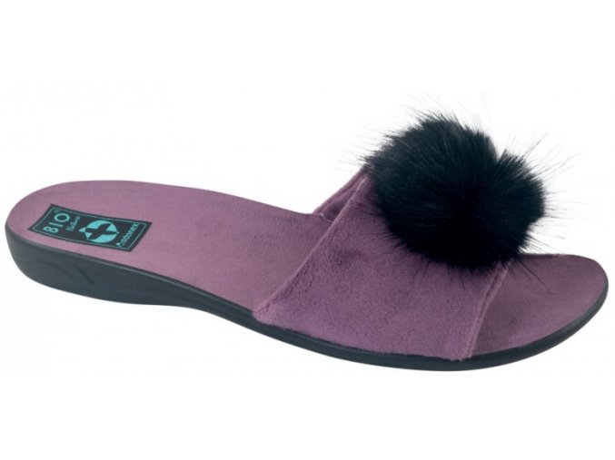 Dámske papuče ADANEX BIO 25694 s otvorenou špičkou