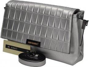 Luxusná strieborná kabelka monnari BAG 2500