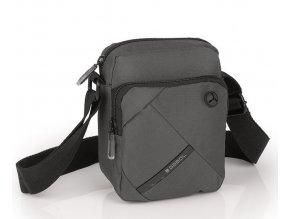Menšia pánska taška GABOL 515202016 šedo-hnedá