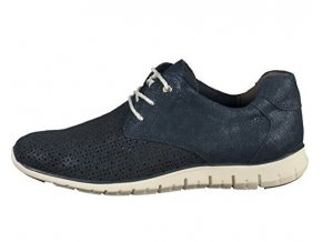 1bcae0b81f Dámske kožené topánky MARCO TOZZI modré