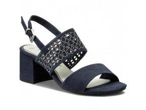 Sandálky Marco Tozzi modré
