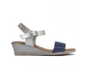 Luxusné celokožené sandálky CUMBIA
