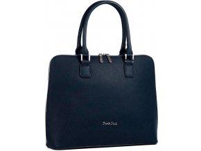 Luxusná kabelka Daniele Donati tm. modrá