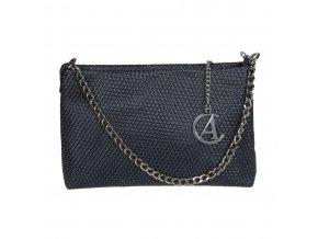 Luxusná kožená kabelka Gianni Conti čierna