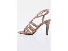 Dámske sandálky Monnari BUT 0290 ružové