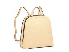 Dámsky luxusný batoh Daniele Donati 01.295 béžový