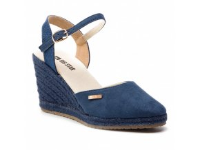 Sandálky na platforme Big Star 274192 modré