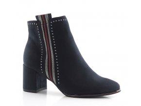 Členkové topánky Marco Tozzi 25379 tm. modré
