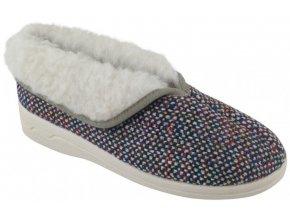 Dámske papuče pre seniorov ADANEX BIO 24160