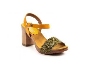 Luxusné celokožené sandálky VERANO 2290