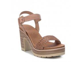 Kožené sandálky na platforme  CARMELA 67255