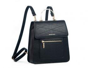Dámsky ruksak čierny Daniele Donati 01.366 čierny
