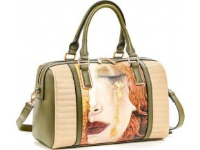 Dámska kabelka VERDE 16-5774 Dievča so zlatými slzami