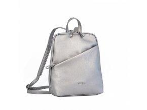 Dámsky ruksak Daniele Donati 01.097 metalická šedá