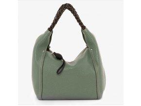 Luxusná kožená kabelka Gianni Conti 2864966 zelená