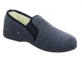Pánske papuče pre seniorov Intermax 167002