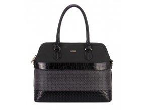 Dámska kabelka DAVID JONES 6610-1 čierna