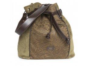 Dámska kabelka TANTREND 04703351 khaki zelená