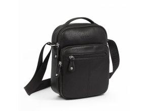 Pánska  taška cez rameno Daniele Donati 03.037.00 čierna s rúčkou
