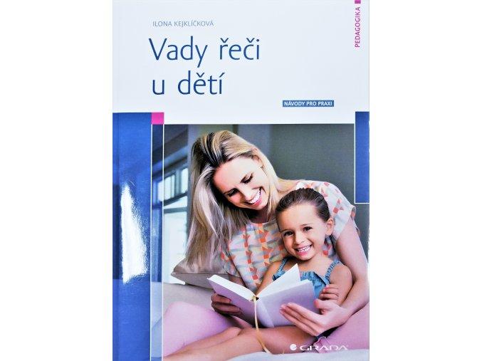 kniha Vady řeči u dětí