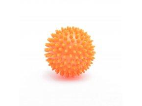 Masážní ježek oranžový, Ø 6cm