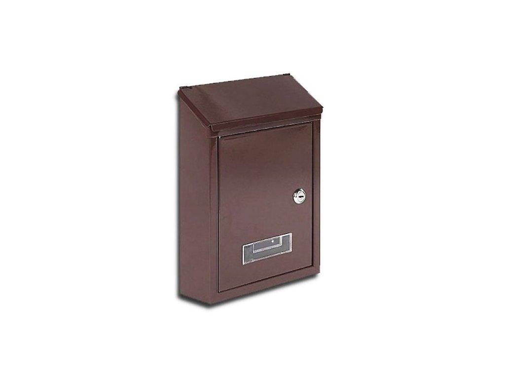 Poštovní schránka ERIK hnědá