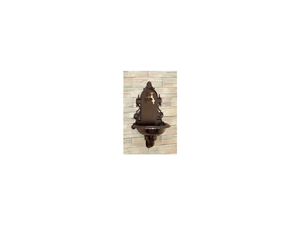 Zahradní umyvadlo VERONA metalický bronz