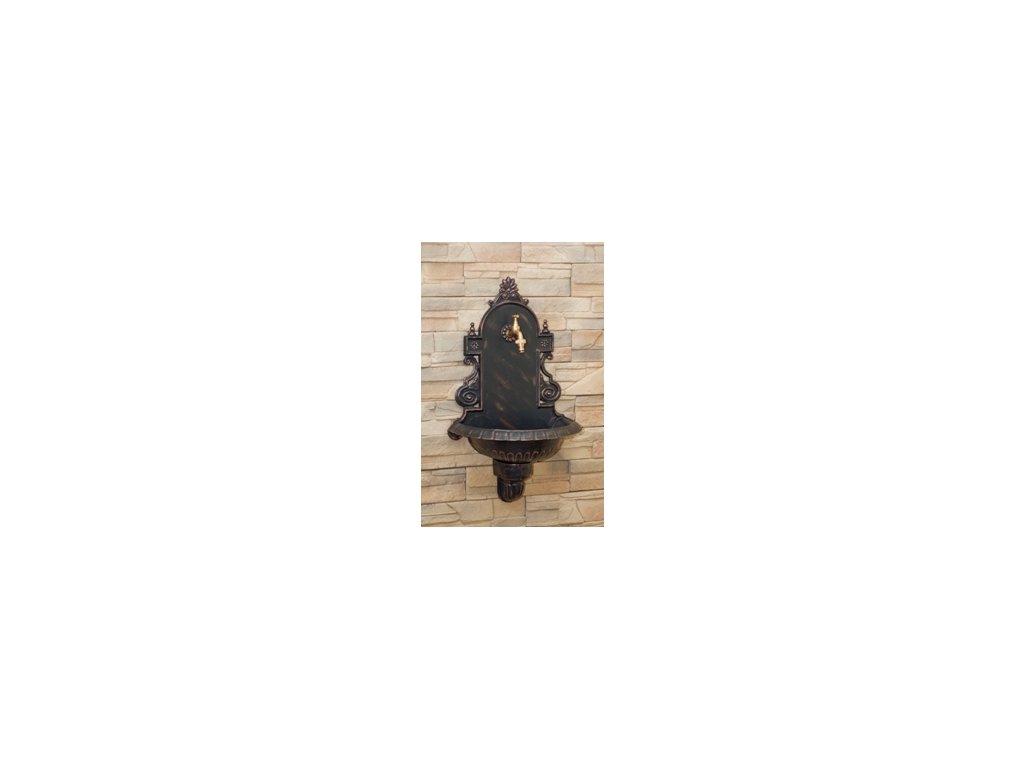 Zahradní umyvadlo VERONA antický bronz