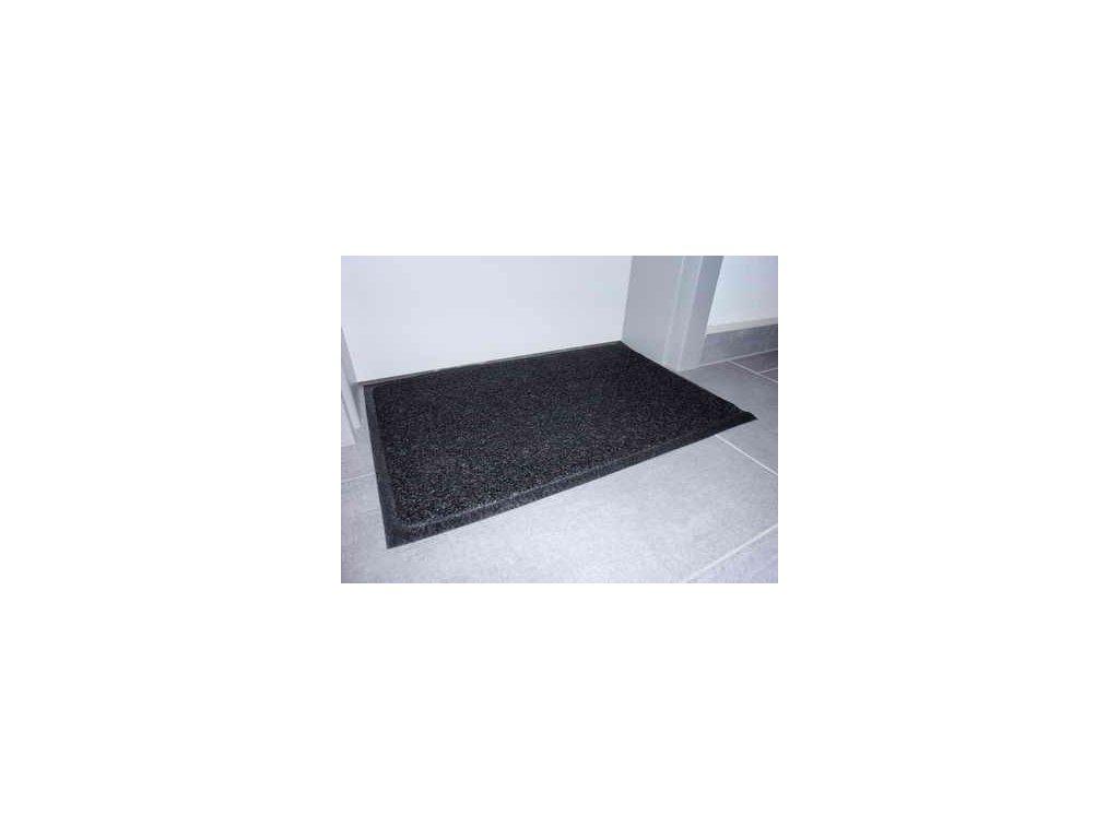 Rohož PRECIS černá gumová 40x60cm