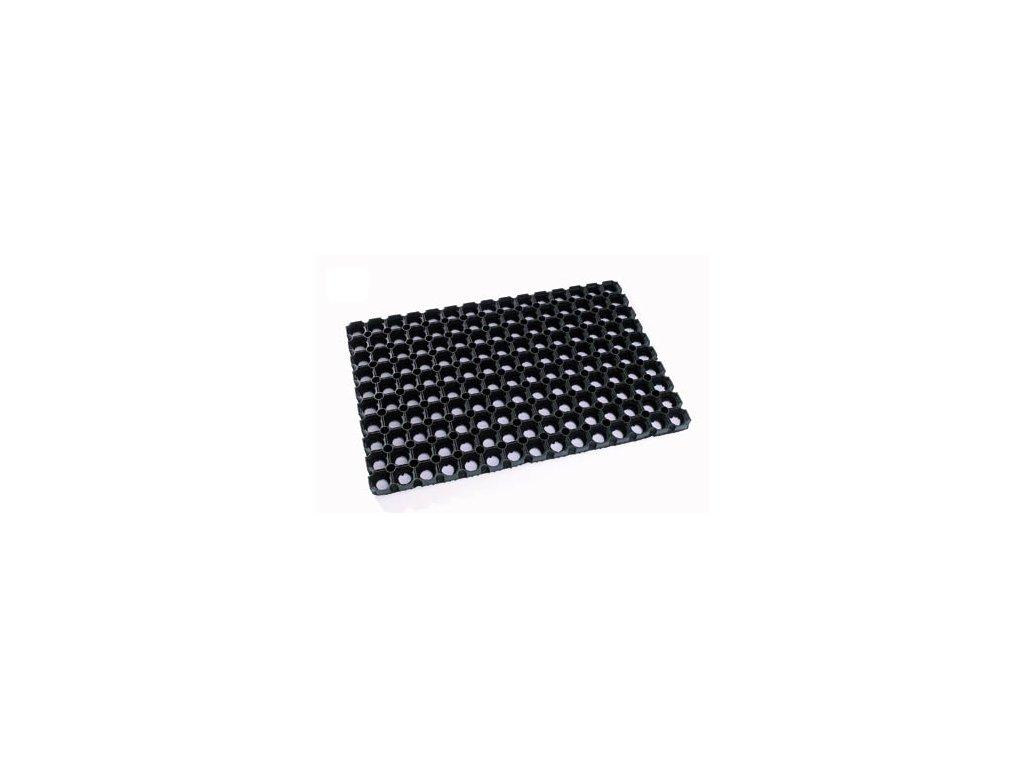 Rohož černá gumová 80x120cm