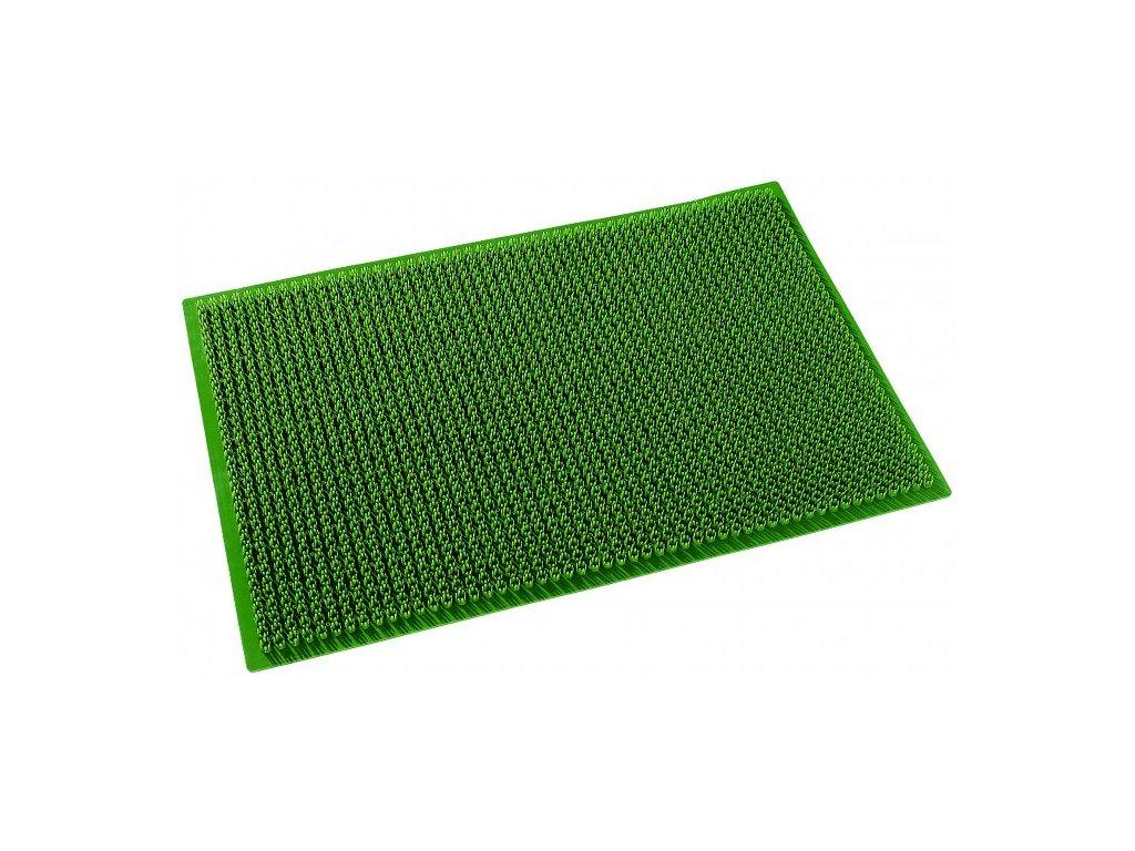 Rohož plast zelená tráva 59x39cm