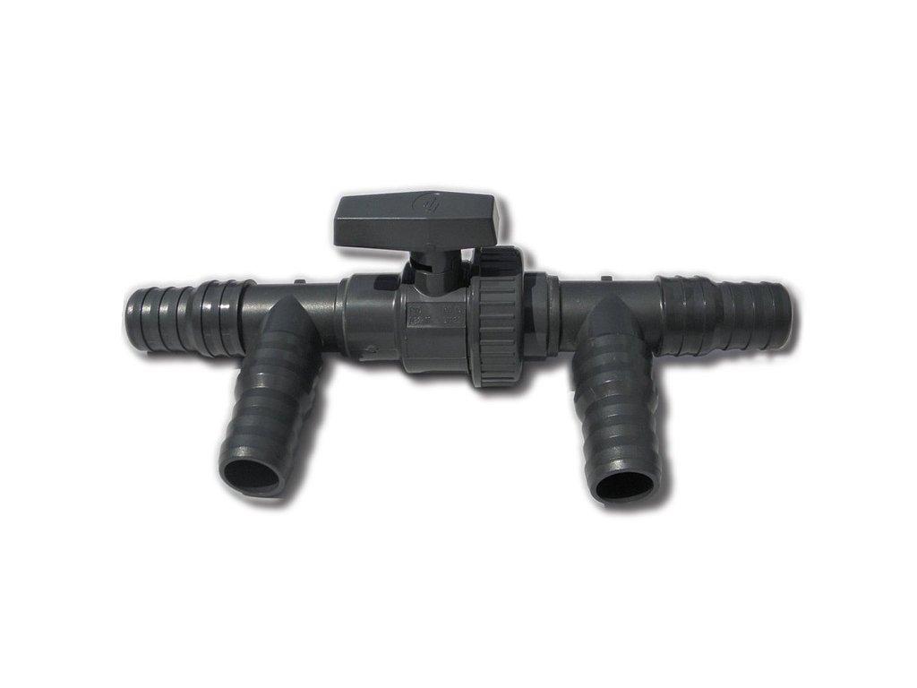 Obtokový ventil k solárnímu ohřevu 32/38mm