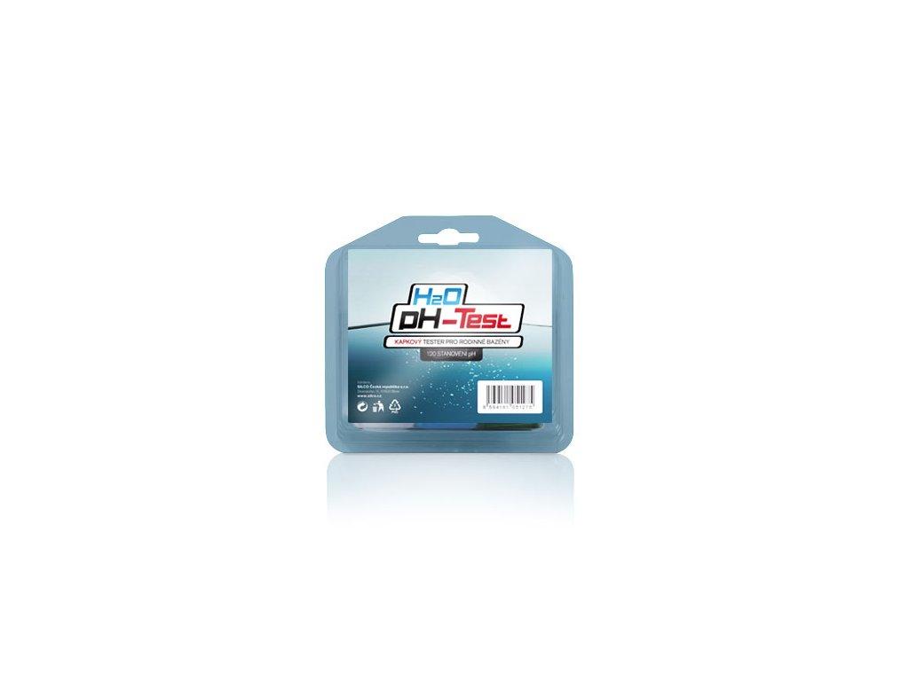 H2O pH TEST kapkový tester