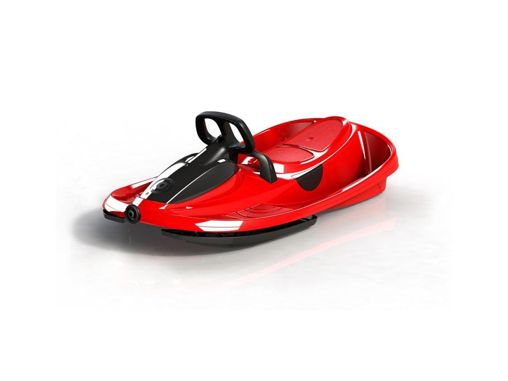 Plastkon boby s volantem STRATOS červené