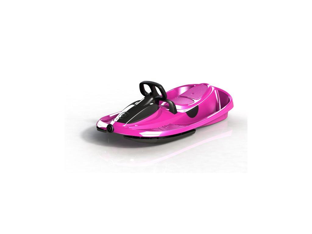 Plastkon boby s volantem STRATOS růžové