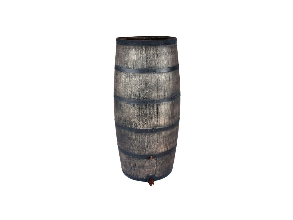 Sud na dešťovou vodu 500L imitace dřeva