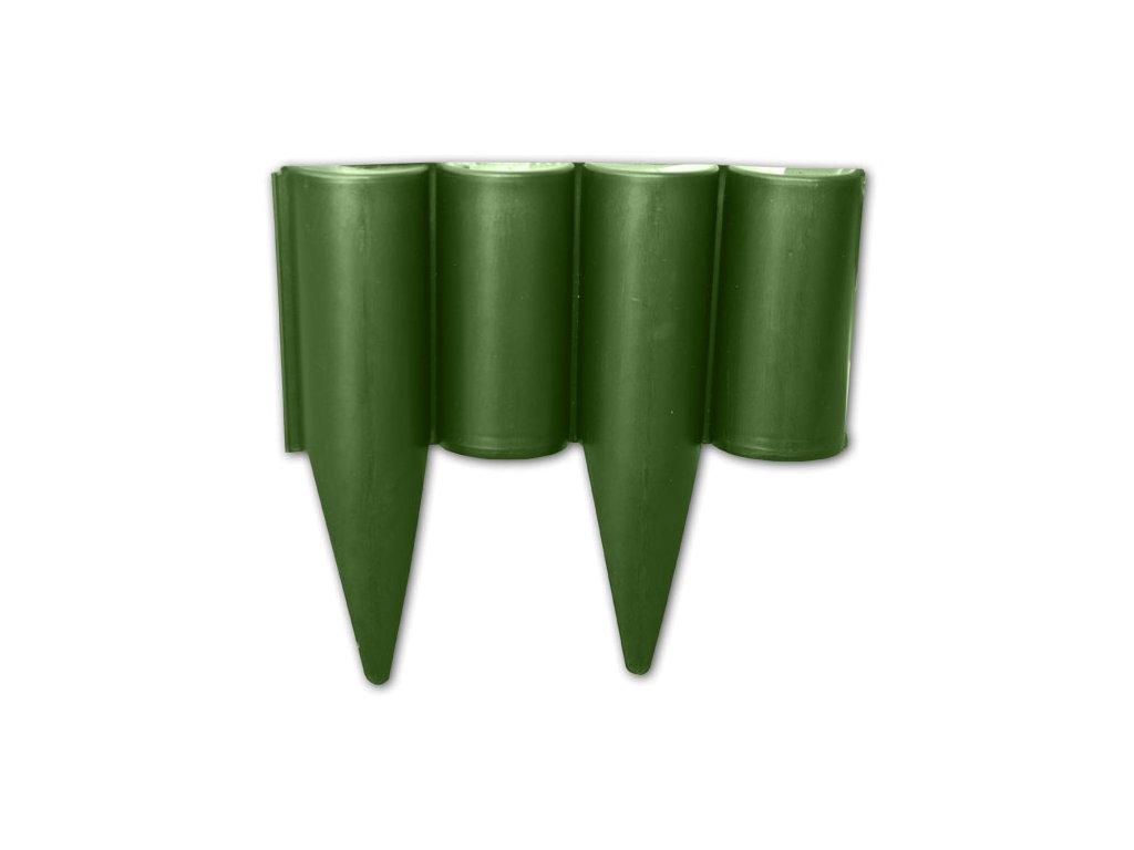 Palisáda PALGARDEN 225mm/2,5m zelená