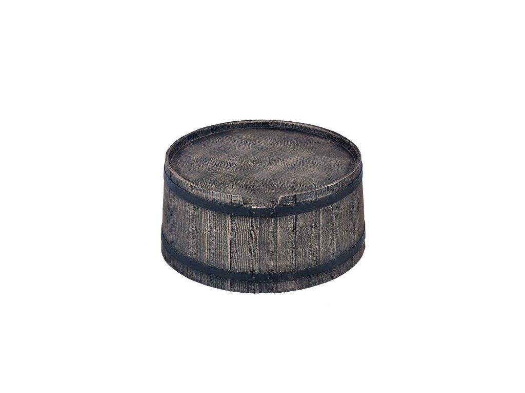 Podstavec pod sud 350L imitace dřeva