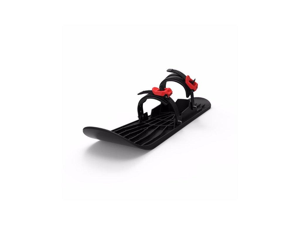 PLASTKON Lyže OneFoot Miniski černá
