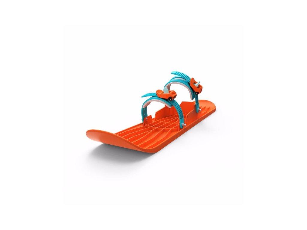 PLASTKON Lyže OneFoot Miniski oranžová