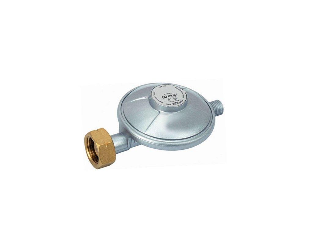 """Plynový PB regulátor 50mbar, G1/4""""L"""