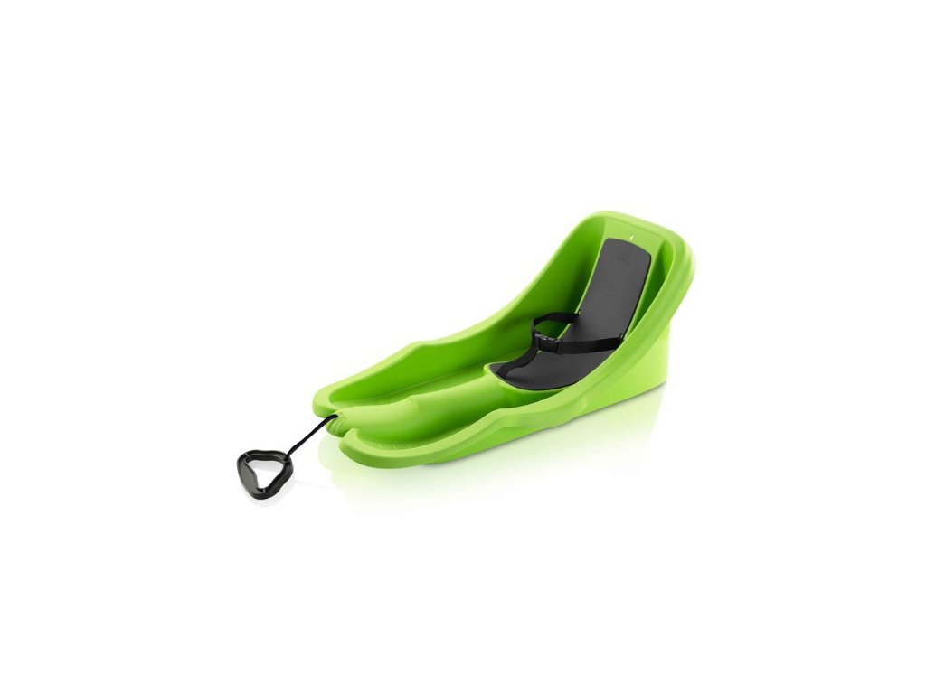 Dětské boby Plastkon BABY RIDER zelené