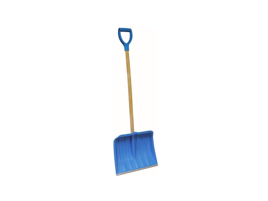 Shrnovač na sníh 50cm plastový BLUE s násadou