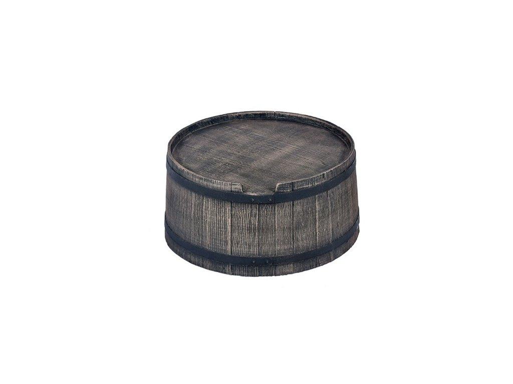 Podstavec pod sud 500L imitace dřeva