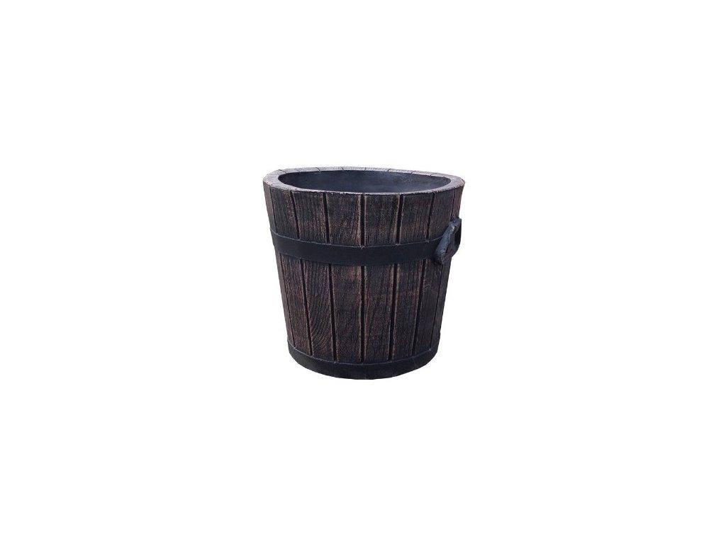 Roto plastový květináč Polka S
