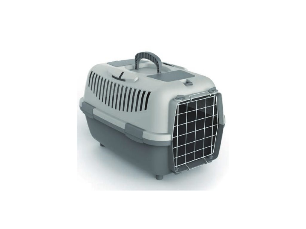 Přepravka pro psy NOMADE 3 LUX šedá