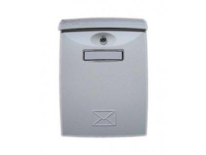 Poštovní schránka ABS plastová bílá