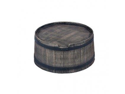 Podstavec pod sud 240L imitace dřeva