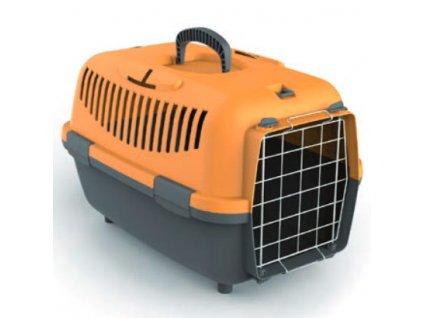 Přepravka pro psy NOMADE 1 LUX oranžová